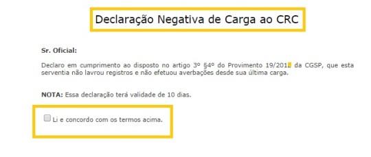 negativas